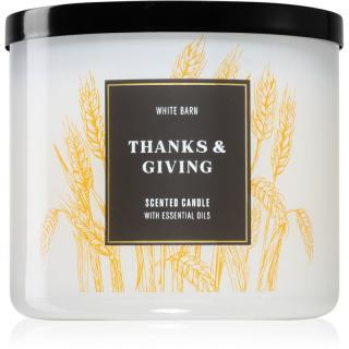 Bath & Body Works Thanks & Giving vonná svíčka 411 g 411 g