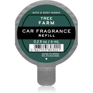 Bath & Body Works Tree Farm vůně do auta náhradní náplň 6 ml 6 ml