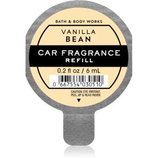 Bath & Body Works Vanilla Bean vůně do auta náhradní náplň 6 ml 6 ml