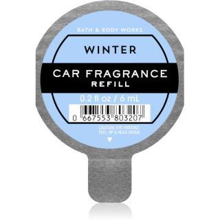Bath & Body Works Winter vůně do auta náhradní náplň 6 ml 6 ml