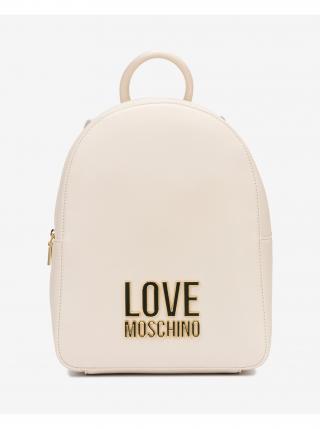 Batoh Love Moschino dámské bílá