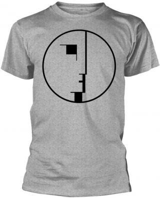 Bauhaus Logo Grey L pánské L