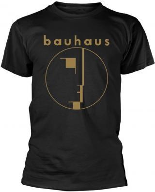 Bauhaus Spirit Logo Gold XXL pánské Black 2XL