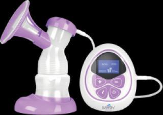 BAYBY BBP 1010 Odsávačka mateřského mléka elektrická fialová