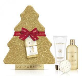 Baylis & Harding Vánoční dárková sada péče o tělo Sweet Mandarin & Grapefruit 3 ks - SLEVA - pomačkaný obal sady