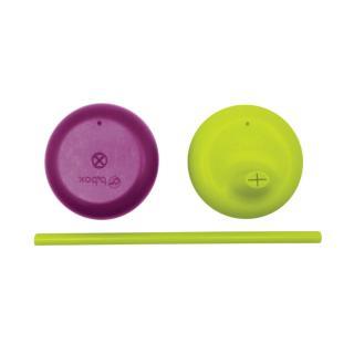 B.BOX Univerzální silikonová víčka – fialová/zelená