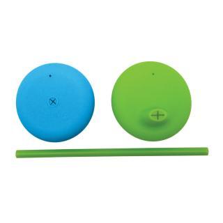 B.BOX Univerzální silikonová víčka – modrá/zelená