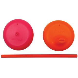 B.BOX Univerzální silikonová víčka – růžová/oranžová
