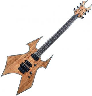BC RICH Warbeast Extreme Exotic with Floyd Rose SM Brown
