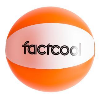 Beach ball FACTCOOL Waikiki Orange One size