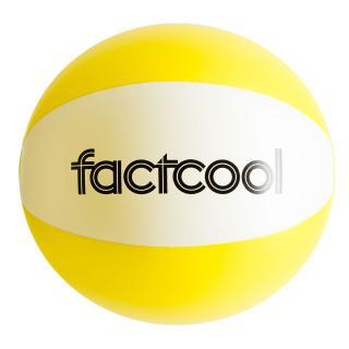 Beach ball FACTCOOL Waikiki Yellow One size