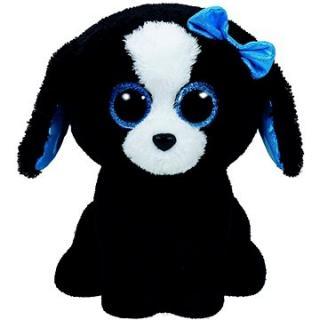 Beanie Boos Tracey - Black/White Dog 24 cm