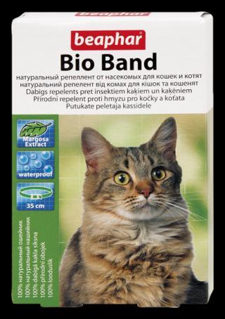 Beaphar Bio Band antiparazitický obojek pro kočky 35cm