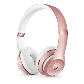 Beats Solo3 Wireless, růžovo - zlatá