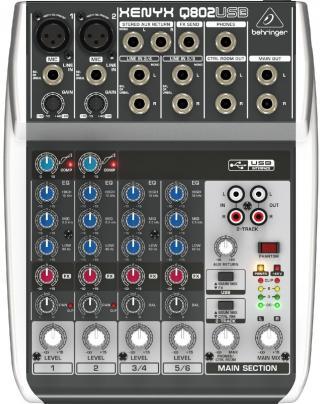 Behringer XENYX Q802 USB