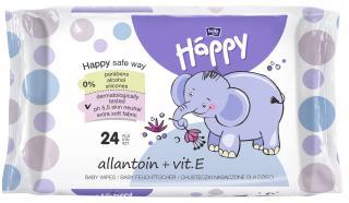 BELLA HAPPY BABY Vlhčené ubrousky s vitamínem E 24 ks