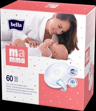 BELLA MAMMA Prsní vložky 60 ks bílá