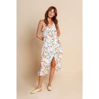 Benedict Harper Womans Dress Blanca dámské Other 34