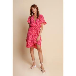 Benedict Harper Womans Dress Marie Floral Amaranthine dámské Other 44
