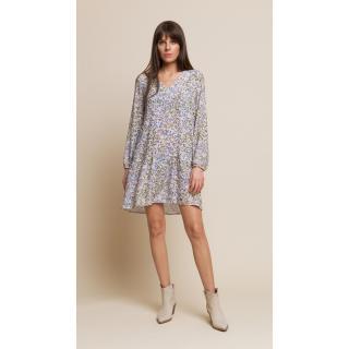 Benedict Harper Womans Dress Rose Floral/Beige dámské Floral Beige 34