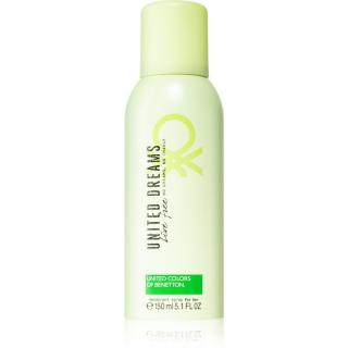 Benetton United Dreams for her Live Free deodorant ve spreji pro ženy 150 ml dámské 150 ml
