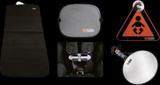 BESAFE Set doplňků - proti směru jízdy - Rear facing package černá