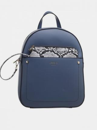 Bessie London Blue Backpack modrá One size