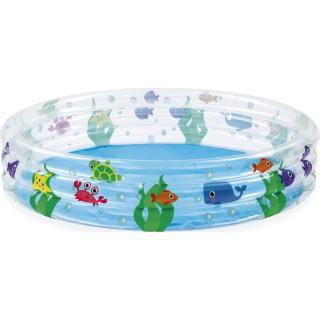 Bestway Bazén nafukovací 3 prstence Moře