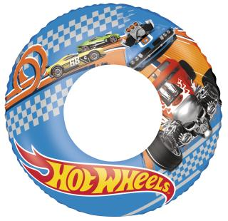 BESTWAY Kruh nafukovací Hot Wheels, průměr 56 cm modrá