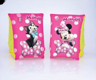 BESTWAY Nafukovací rukávky - Disney Minnie, rozměr 25 x 15 cm růžová