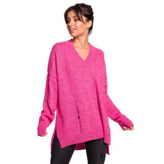 BeWear Womans Pullover BK028 dámské Pink S