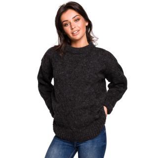 BeWear Womans Pullover BK038 dámské Anthracite S