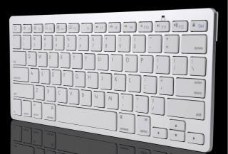 Bezdrátová bluetooth klávesnice pro iPad, Macbook & iBook