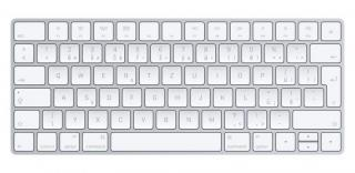 Bezdrátová klávesnice klávesnice apple magic, cz, bílá