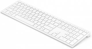 Bezdrátová klávesnice klávesnice hp 600, bezdrátová, cz, nízkoprofilová, bílá