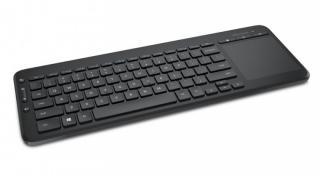 Bezdrátová klávesnice microsoft all-in-one media keyboard usb cz, černá
