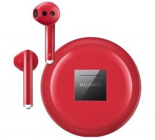 Bezdrátová sluchátka Huawei FreeBuds 3 CM-H3 červená