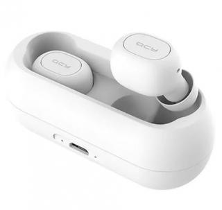 Bezdrátová sluchátka QCY T1C bílá
