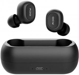 Bezdrátová sluchátka QCY T1C černá