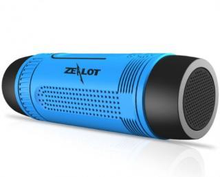 Bezdrátový bluetooth reproduktor Zealot S1 outdoor - 5 barev Barva: modrá