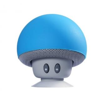 Bezdrátový přenosný reproduktor ve tvaru houby - 6 barev Barva: modrá