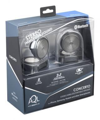 Bezdrátový stereo reproduktor CellularLine Concerto, černý