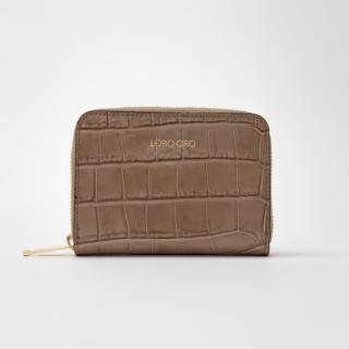 Béžová peněženka Loro Oro Taupe dámské One size