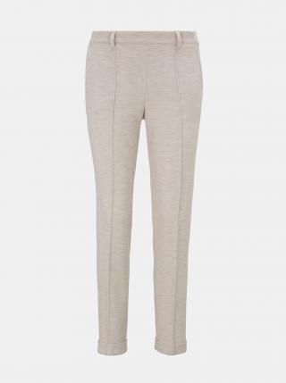 Béžové dámské kalhoty Tom Tailor dámské béžová S