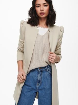 Béžový lehký kabát ONLY dámské béžová XL
