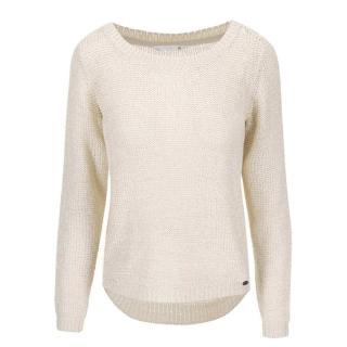 Béžový pletený svetr ONLY Geena dámské Béžová XS