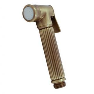Bidetová sprška RAV SLEZÁK se stop ventilem stará mosaz KS0005SM ostatní stará mosaz