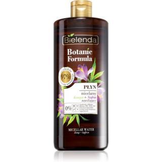 Bielenda Botanic Formula Hemp   Saffron osvěžující čisticí micelární voda 500 ml dámské 500 ml