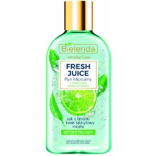 Bielenda Detoxikační micelární voda pro smíšenou, mastnou a citlivou pleť Fresh Juice  100 ml dámské