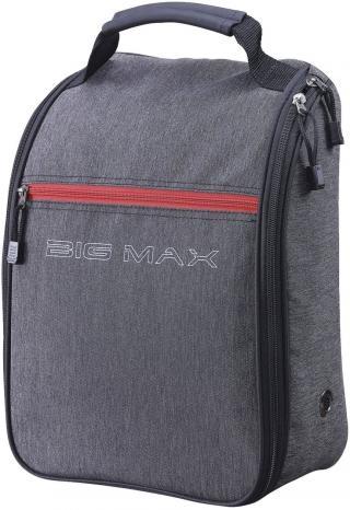 Big Max Shoe Bag Storm Charcoal/Red Grey